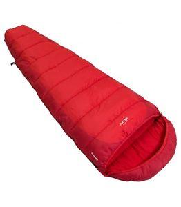 【送料無料】キャンプ用品 vango3502ウェイジップ3シーズンvango wilderness 350 sleeping bag 3 season single stitched,twoway zip red