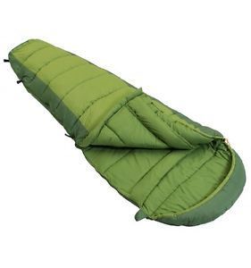 【送料無料】キャンプ用品 vango25023シーズン2ウェイzipvango wilderness 250 sleeping bag 23 season single stitched twoway zip green