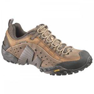 【送料無料】キャンプ用品  merrellブラウンsz9mensウォーキングシューズトレーナー merrell intercept moth brown sz 9 mens walking shoe trainers in box