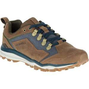 【送料無料】キャンプ用品 merrellクラッシャーuk10 rrp90merrell all out crusher uk10 boardwalk rrp 90