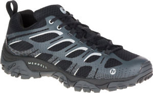 【送料無料】キャンプ用品 ハイキングmerrellモアブmensmerrell moab edge waterproof mens hiking shoes