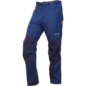【送料無料】キャンプ用品 mensバルトサイズmontane terra long length mens pants walking baltic blue all sizes