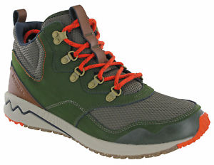 【送料無料】キャンプ用品 merrellストウハイキングブーツmensロジンmerrell stowe mid hiking boots ankle mountaineering walking mens leather rosin