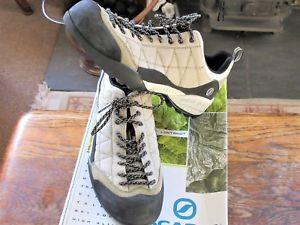【送料無料】キャンプ用品 スカルパクモアプローチハイキングサイズ55チョーク72565scarpa zen womens spider trail approach hiking shoe size 55 col chalk 72565