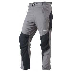 【送料無料】キャンプ用品 4ハイキングレッグmontane mens terra four season hiking pants reg leg graphite
