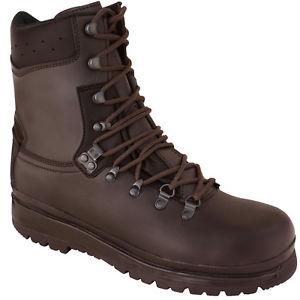 【送料無料】キャンプ用品 ブーツelitewaterproof brown leather tactical boots elite military forces combat army patrol