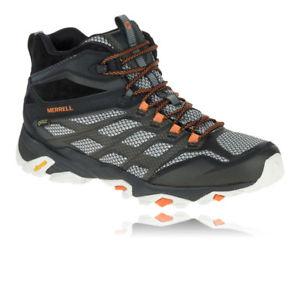 【送料無料】キャンプ用品 キャンプスポーツシューズブーツmerrellモアブfstmensゴアtexmerrell moab fst mid mens gore tex walking camping sports shoes boots