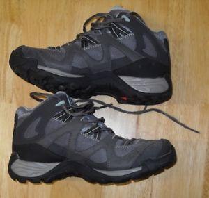 【送料無料】キャンプ用品 gtxソロモンセクターハイキングサイズ65salomon sector mid gtx ladies grey and blue hiking shoes, size 65