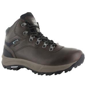 【送料無料】キャンプ用品 mens hitec altitude vi i wp brown waterproofmichelin hiking walking bootsmens hitec altitude vi i wp brown waterproof mich