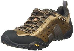 【送料無料】キャンプ用品 brand merrell intercept mens low rise hiking moth brownbrand merrell intercept mens low rise hiking moth brown