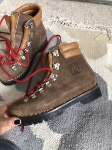 【送料無料】キャンプ用品 ヴィンテージtecnicaハイキングブーツ336brown vintage tecnica hiking boots uk 3 36