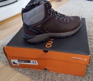 【送料無料】キャンプ用品 merrell mens12 euブーツ47ブラウンmerrell mens uk 12 eu 47 brown walking boots waterproof