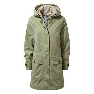 【送料無料】キャンプ用品 craghoppersカイリーロングコート ブッシュグリーンcraghoppers womens kylie waterproof long coat bush green
