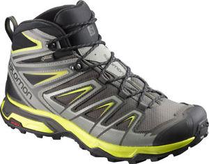 【送料無料】キャンプ用品 gtx mensハイキングソロモンx ultra 3salomon x ultra 3 mid gtx mens hiking boots