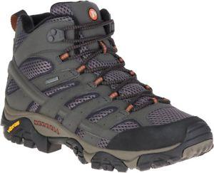 【送料無料】キャンプ用品 ゴアテックスmensmerrellモアブ2 merrell moab 2 mid goretex mens walking boots green