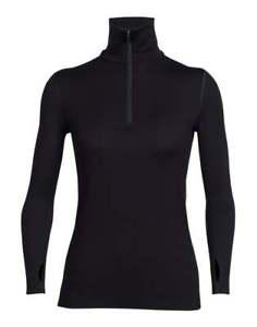 【送料無料】キャンプ用品 icebreakerテクノロジートップzipicebreaker tech top long sleeve half zip womens