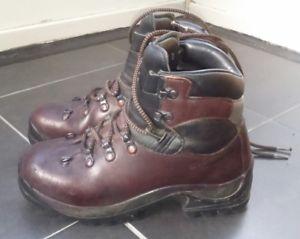 【送料無料】キャンプ用品 スカルパブラウンブーツ5womens scarpa brown leather walking boots size 5