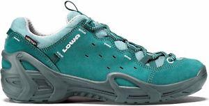 【送料無料】キャンプ用品 ロワエルバw goretexガソリン8lowa elba lo ws goretex womens petrol travel shoes uk 8