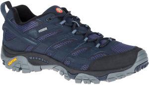 【送料無料】キャンプ用品 merrellモアブ2ゴアテックスmensウォーキングシューズ merrell moab 2 goretex mens walking shoes navy