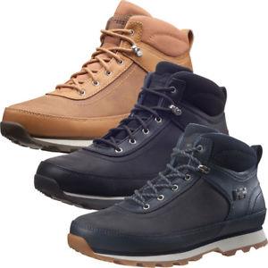 【送料無料】キャンプ用品 ヘリーハンゼンmensカルガリーブーツhelly hansen mens calgary waterproof leather winter casual boots