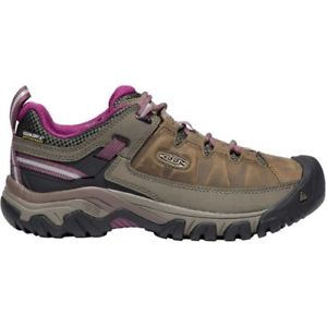 【送料無料】キャンプ用品 ブーツターギーiii wp womensブーツワイスボイゼンベリーサイズkeen targhee iii wp womens boots walking boot weiss boysenberry all sizes