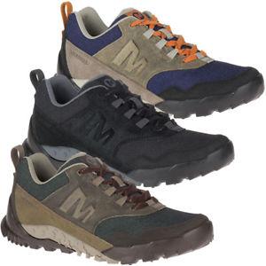【送料無料】キャンプ用品 merrell mensウォーキングシューズmerrell mens annex recruit breathable textile leather walking shoes