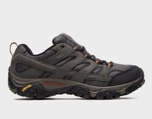 【送料無料】キャンプ用品 メンズモアブハイキングシューズmerrell mens moab 2 goretex hiking shoes uk 10 eu 445 ln28 64