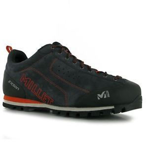 【送料無料】キャンプ用品 ノナレースミレーウォーキングシューズmensヘントmillet friction walking shoes mens gents non water repellent laces fastened