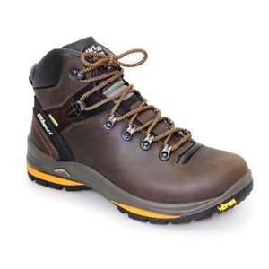 【送料無料】キャンプ用品 ハイキングブーツgrisportサラセンブラウンmensgrisport saracen brown mens walking hiking boots lace up leather waterproof