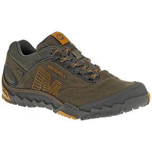 【送料無料】キャンプ用品 アネックスメンズシューズウォーキングシューズサイズmerrell annex gtx mens footwear walking shoes stone size 7