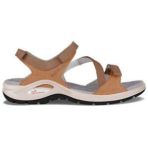 【送料無料】キャンプ用品 ロワアルメリーアwコニャックサンダル6eu 38lowa almeria ws cognac womens travel sandals uk 6 eu 38