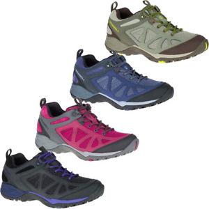 【送料無料】キャンプ用品 merrell womensサイレンスポーツq2ウォーキングシューズmerrell womensladies siren sport q2 breathable leather walking shoes