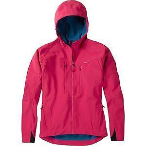 【送料無料】キャンプ用品 マディソンzenaソフトシェルジャケットローズレッドサイズ16ピンク