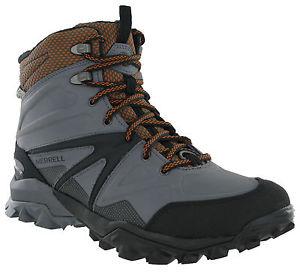 【送料無料】キャンプ用品 merrellcapraブーツハイキングビブラムmensmerrell capra glacial boots ice grip mid waterproof hiking walking vibram mens