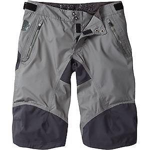 【送料無料】キャンプ用品 マディソンdteズボンmadison dte mens waterproof shorts, dark shadow small grey