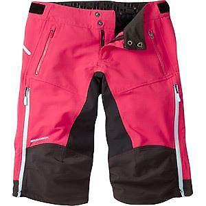 【送料無料】キャンプ用品 マディソンzena4シーズンdwrズボンローズレッドサイズ10ピンクmadison zena womens 4season dwr shorts, rose red size 10 pink