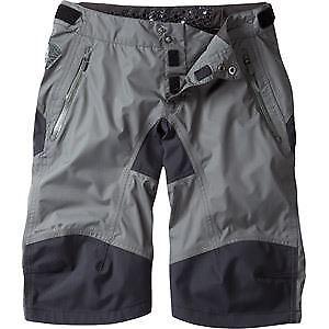 【送料無料】キャンプ用品 マディソンdteズボンサイズ8madison dte womens waterproof shorts, dark shadow size 8 grey