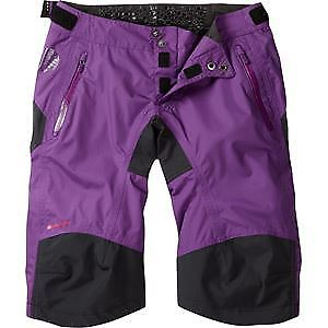 【送料無料】キャンプ用品 マディソンdteズボンサイズ14madison dte womens waterproof shorts, imperial purple size 14 purple