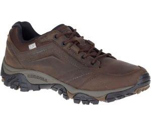 【送料無料】キャンプ用品 merrell mensモアブレース サイズmerrell mens moab adventure lace waterproof shoe dark earth uk sizes