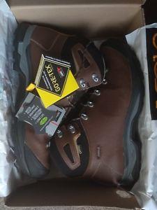 【送料無料】キャンプ用品 asolo thyrus gv mensハイキングブーツ  105 コスト18399  asolo thyrus gv mens hiking boots brown uk 105 cost 18399 boxed