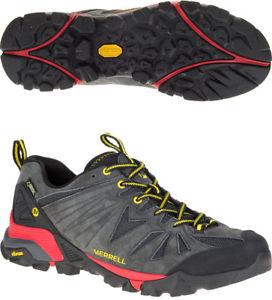 【送料無料】キャンプ用品 merrell capraゴアテックスmensウォーキングシューズ merrell capra goretex mens walking shoes grey