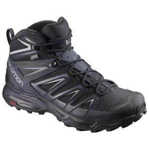 【送料無料】キャンプ用品 gtxハイキングソロモンmens x ultra 3salomon mens x ultra 3 mid gtx hiking boots