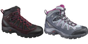【送料無料】キャンプ用品 salomon authentic ltr gtx wハイキングwomens shoes hiking trekking salomon authentic ltr gtx w various colours
