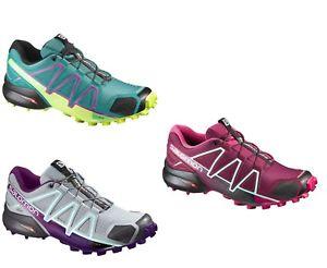 【送料無料】キャンプ用品 trail runningsalomonspeedcross4wtrail running shoes womens salomon speedcross 4 w various colours