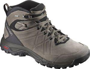 【送料無料】キャンプ用品 ltr gtx mensウォーキングソロモン2 salomon evasion 2 mid ltr gtx mens walking boots brown