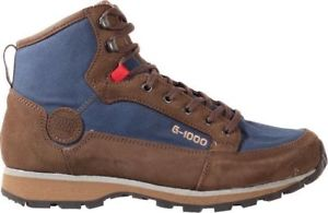 【送料無料】キャンプ用品 hanwag bacal iiブーツ65 40eu ln3768hanwag bacal ii mid walking boot brownblue uk 65 eu 40 ln37 68
