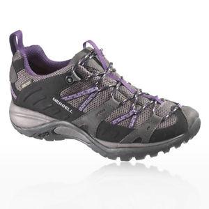【送料無料】キャンプ用品 merrellサイレンwomensゴアtexトレーナースポーツシューズmerrell lady siren womens grey gore tex waterproof trainers sports shoes