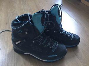 新品即決 【送料無料】キャンプ用品 ハイキングショートブーツmammut womenstベースgtxmammut womens ladies t base high gtx walking hiking ankle boot, タイキチョウ a9594db7