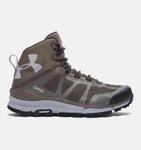 【送料無料】キャンプ用品 uagtxハイキングブーツカーキーgoretex uk 10 bnibunder armour mens ua verge mid gtx hiking boots khaki goretex uk 10 bnib