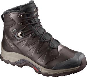 【送料無料】キャンプ用品 ソロモンgtx mensブーツsalomon quest winter gtx mens boots